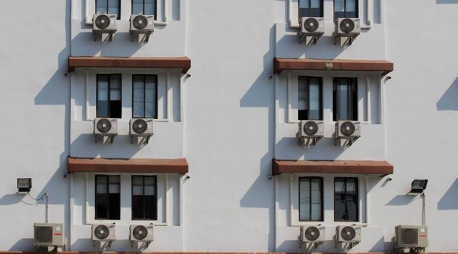 comercios que usam ar condicionado
