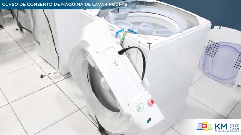 curso de conserto de maquina de lavar roupas km multi cursos 13